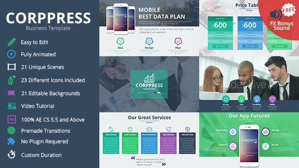 VideoHive Corppress Business Presentation 12208717