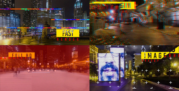 VideoHive Dynamic Glitch Slide 12310657