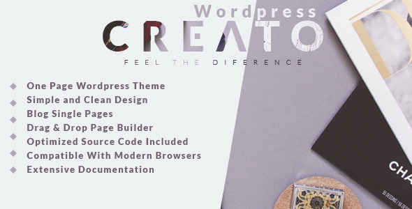 Creato - Creative & Modern WordPress Theme