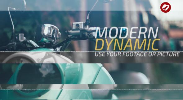 VideoHive Dynamic Slide Opener 12313386