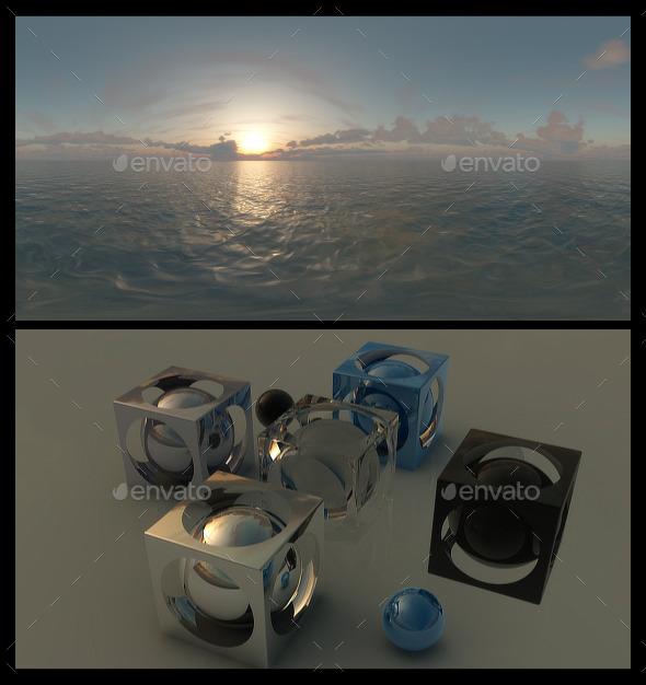 3DOcean Ocean Dawn 5 HDRI 12314206
