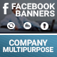 Facebook Banners - Corporate Multipurpose