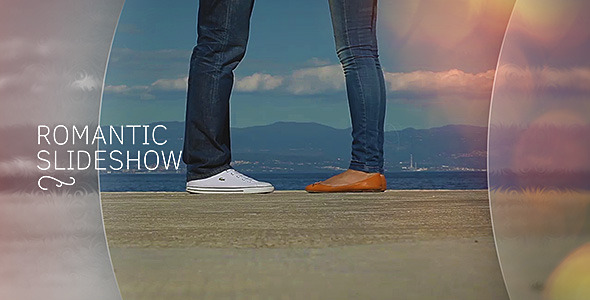 VideoHive Romantic Slideshow 12316327