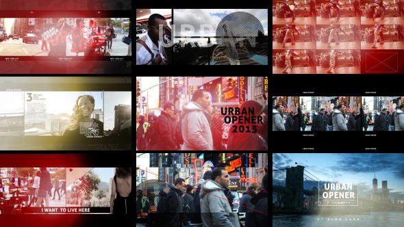 VideoHive Urban Opener 12239688