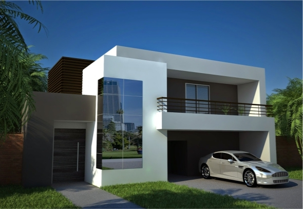 Cinema4D Vray Exterior House | Texture Includes - 3DOcean Item for Sale