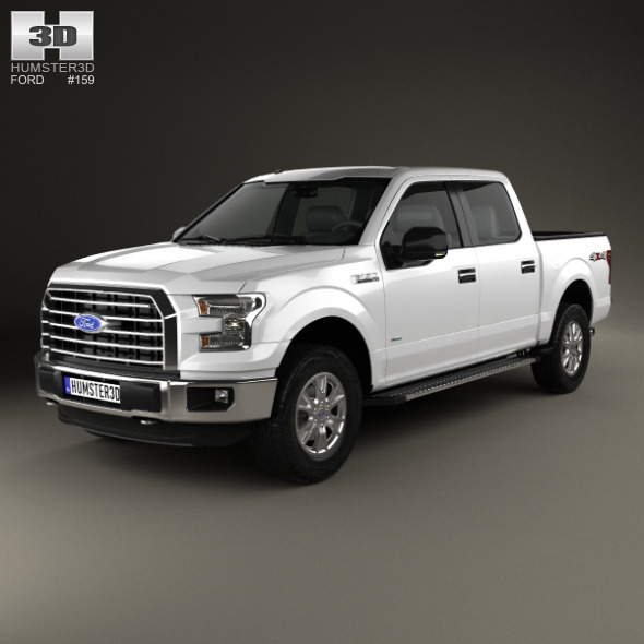 Ford F-150 Super Crew Cab XLT 2014 - 3DOcean Item for Sale