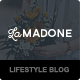 LaMadone - WordPress Theme For Lifestyle Bloggers - ThemeForest Item for Sale