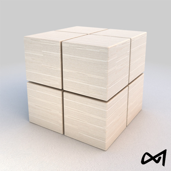 Wood White Material 03 -  V-Ray Shader - 6k Pixel  - 3DOcean Item for Sale