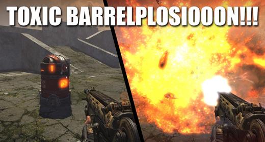Metal Tank Explosion