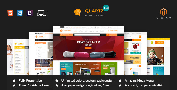 mt quartz 590x300.  large preview - MT Quartz Magento Theme