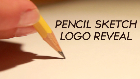VideoHive Pencil Sketch Logo Reveal 12223493
