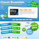 Classic Essentials Web Kit - GraphicRiver Item for Sale