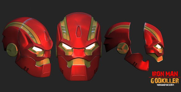 3DOcean 3D Model- Iron Man Godkiller 12322248