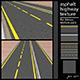 asphalt highway texture