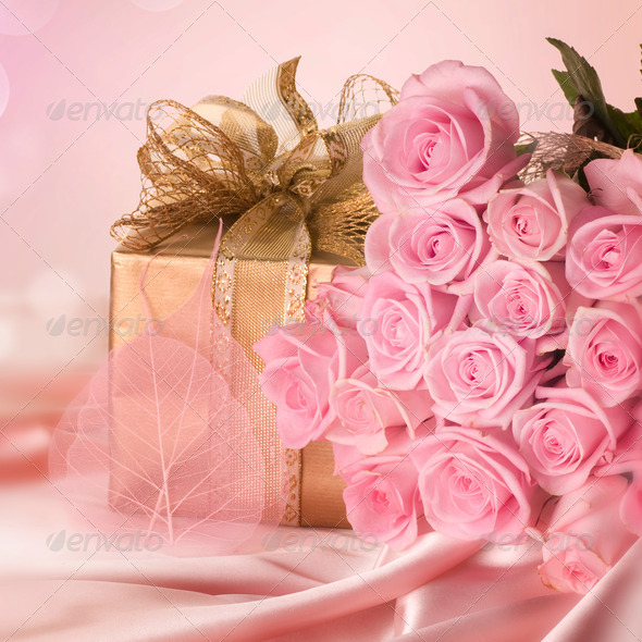 Wedding Or Valentine Gift - Stock Photo - Images