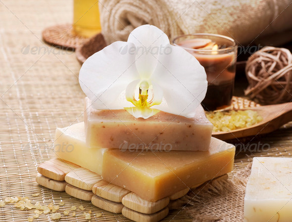Spa Natural Products - Stock Photo - Images