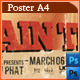 Grindhouse Theatre - Poster Template - GraphicRiver Item for Sale