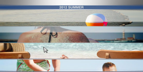 After Effects Project - VideoHive Summer Catalog 1234435