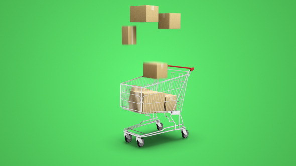 VideoHive Shopping Cart Boxes 12328525