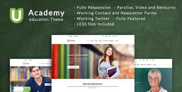 Uacademy - Learning System HTML Template