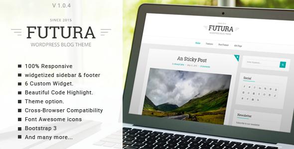 Futura - Responsive Minimal Blog Theme