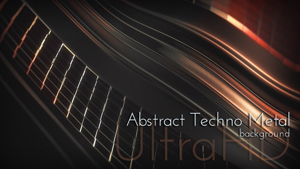 VideoHive Abstract Techno Metal 12328891
