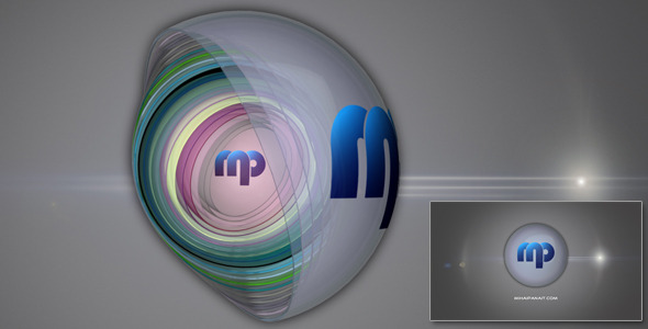After Effects Project - VideoHive Glass Ball Logo Reveal 1235013