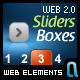 Web 2.0 Styled Slider Boxes - GraphicRiver Item for Sale