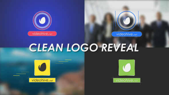 VideoHive Clean Logo Reveal 12276544