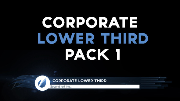 VideoHive Corporate Lower Third Pack 1 12333094
