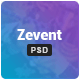 Zevent - Conference & Event PSD Template