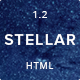 Stellar - Single Page Portfolio with Parallax