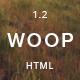 Woop - Single Page Portfolio