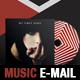 Music Promo PSD E-mail Template