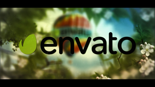 VideoHive Growing Leaves Logo real 12260370