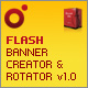 Flash Banner Creator and Rotator