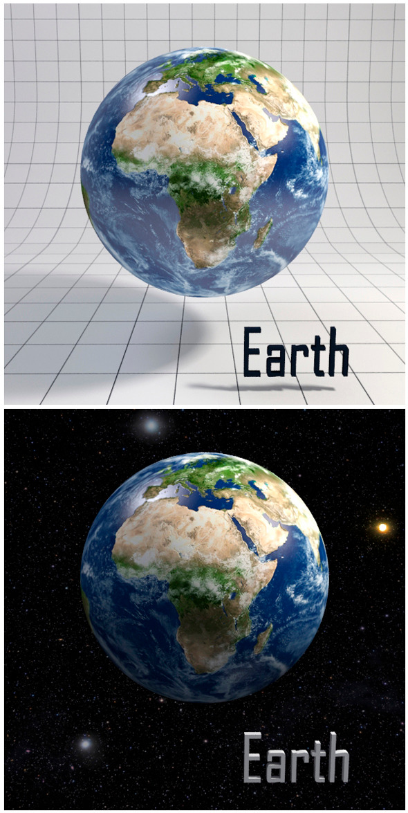 Earth - Realistic HD model - 3DOcean Item for Sale