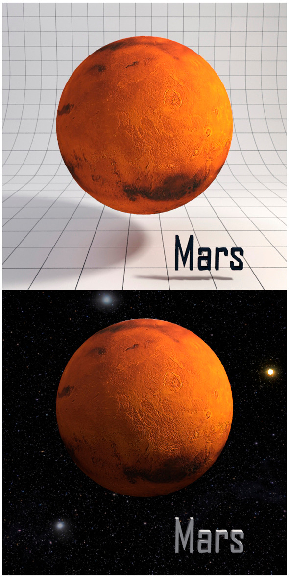 3DOcean Mars Realistic HD model 12341605