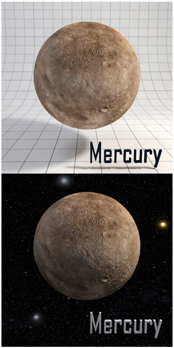 3DOcean Mercury Realistic HD model 12341613