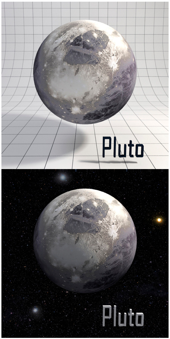 3DOcean Pluto Realistic HD model 12341625