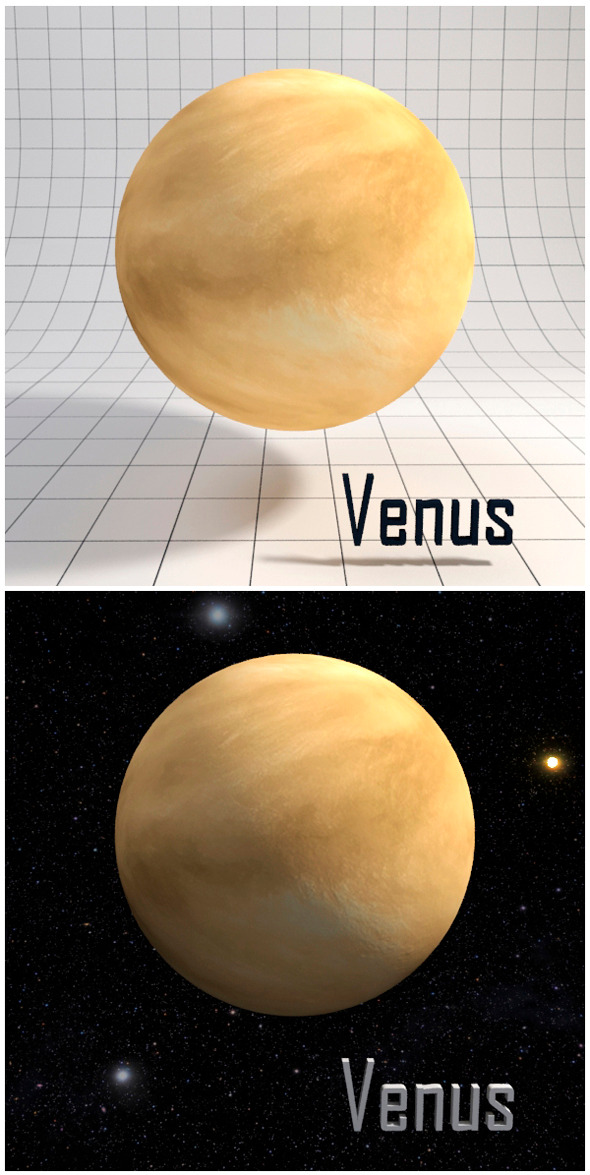 3DOcean Venus Realistic HD model 12341902