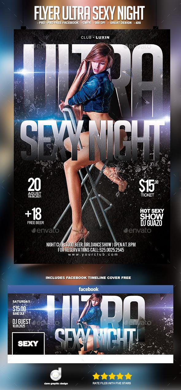 Flyer Ultra Sexy Night