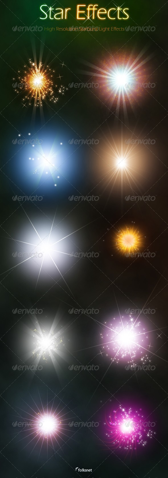 GraphicRiver Star Effects 150010