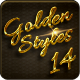 14 Luxury Golden Text Styles vol5