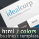 IdealCorp, professional business theme - ThemeForest Item for Sale