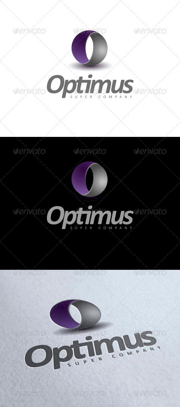 Optimus modern logo