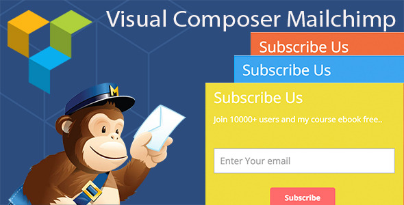 Visual Composer Mailchimp Addon - CodeCanyon Item for Sale