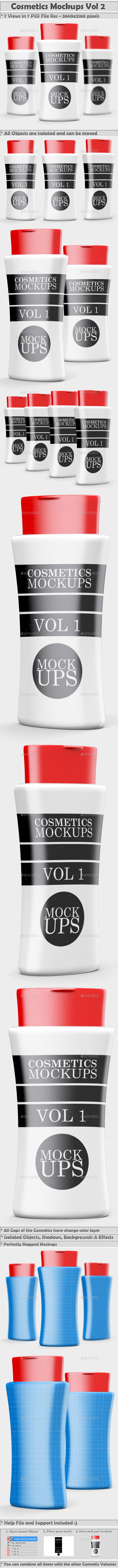 Cosmetics Mockups Vol 2