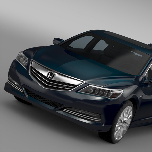 Honda Legend Hybrid 2015 - 3DOcean Item for Sale