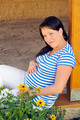Pregnant woman relaxing - PhotoDune Item for Sale